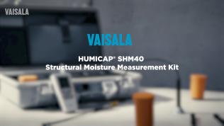 Vaisala SHM40 – Structural MoistureMeasurement